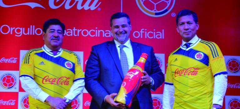 Coca-Cola es el nuevo Patrocinador Oficial de la Selección Colombia