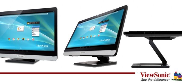 Viewsonic muestra su nueva tecnología en monitores y displays para 2015.