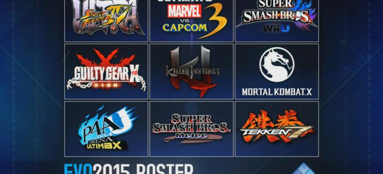 Estos son los juegos que estarán en el EVO 2015