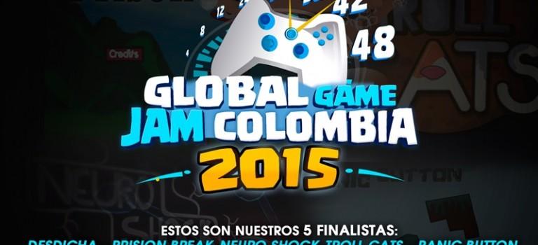 Los 5 mejores juegos creados en el Global Game Jam 2015.