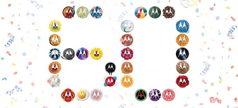 ¡El logo de Motorola hoy cumple 60 años!
