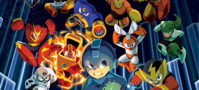 CAPCOM anuncia Mega Man Legacy Collection