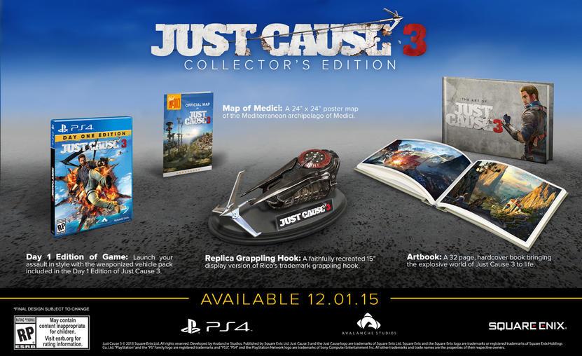 Edición de colección de Just Cause 3