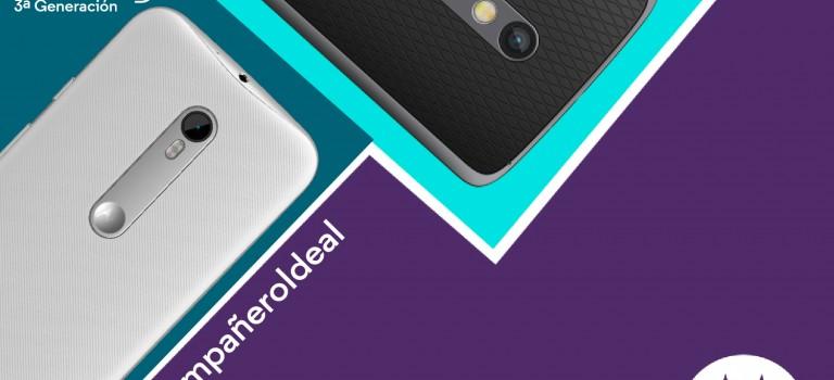Motorola sigue innovando: Ha llegado el nuevo Moto G y Moto X Play