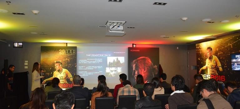 KONAMI muestra sus cartas fuertes en Showcase realizado en Bogotá