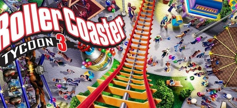 Desde hoy está disponible RollerCoaster Tycoon 3 en iPad y iPhone