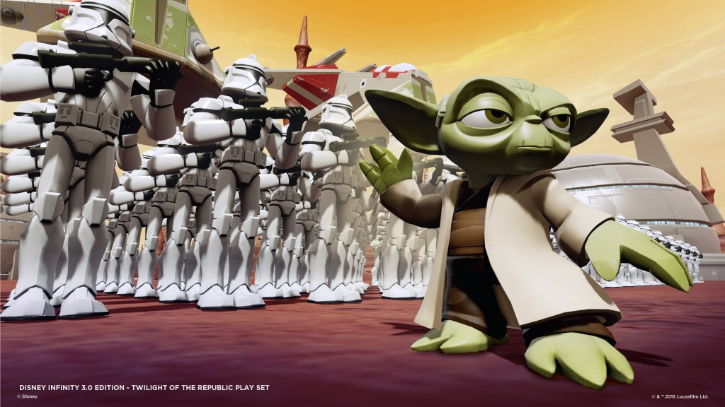 Yoda en Disney Infinity 3.0