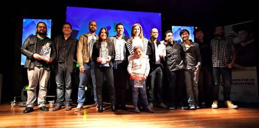 Premiación - Crea Digital 2015