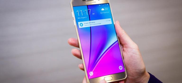 Debuta en Colombia el Samsung GALAXY Note 5