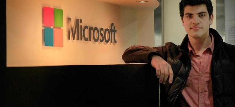 Ingeniero colombiano logra su anhelo de trabajar en Microsoft