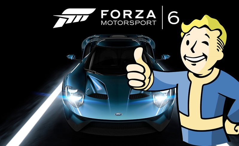 Fallout 4 in Forza 6