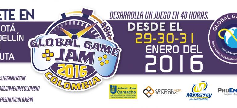 La espera terminó, el Global Game Jam Colombia 2016 está a punto de comenzar