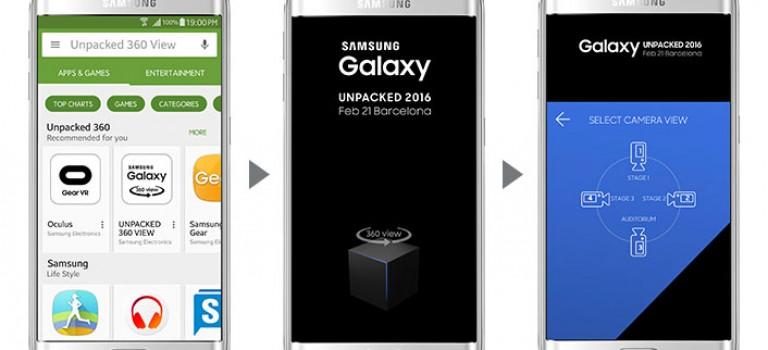 Desde tu smartphone podrás seguir el unpacked del nuevo Galaxy S7