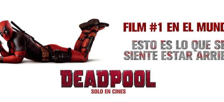 Deadpool, película rompe records en su primera semana de estreno
