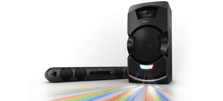 Ambienta tus fiestas al mejor estilo DJ con el nuevo MHC – GT5 de Sony