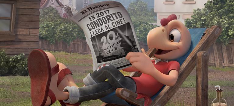 20th Century Fox confirmó película de Condorito