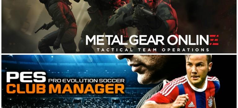 Konami anunció novedades para PES y Metal Gear Solid V