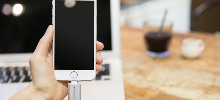 Expande el almacenamiento de tu iPhone con las nuevas unidades flash USB