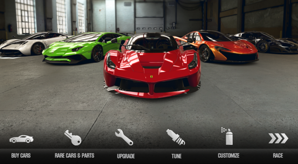 CSR Racing gamers on