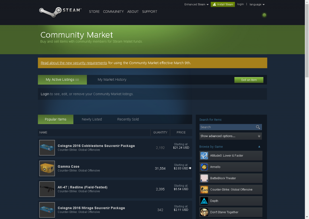 Steam Marketplace