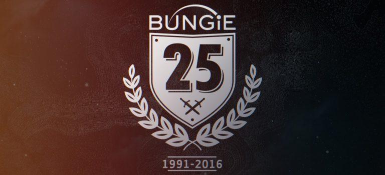 Mira el video de 25 segundos del aniversario 25 de Bungie