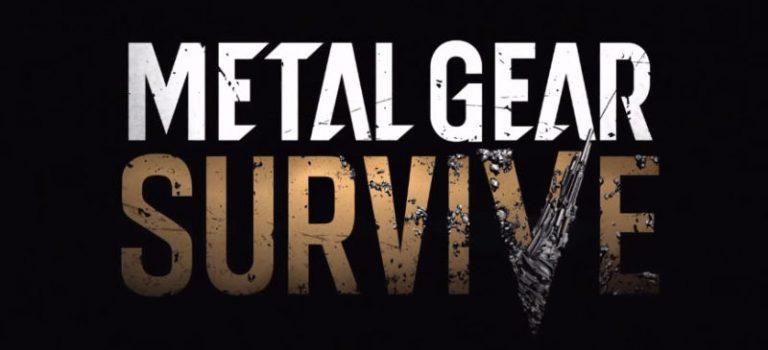 Konami anuncia nuevo juego Metal Gear Solid V: METAL GEAR SURVIVE