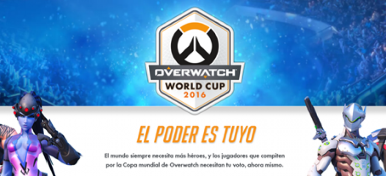 La Copa Mundial de Overwatch se acerca. Vota por tu favorito