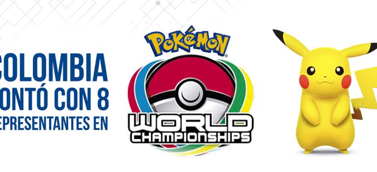 Colombia contó con 8  representantes que compitieron en el Pokémon WC 2016, en  San Francisco
