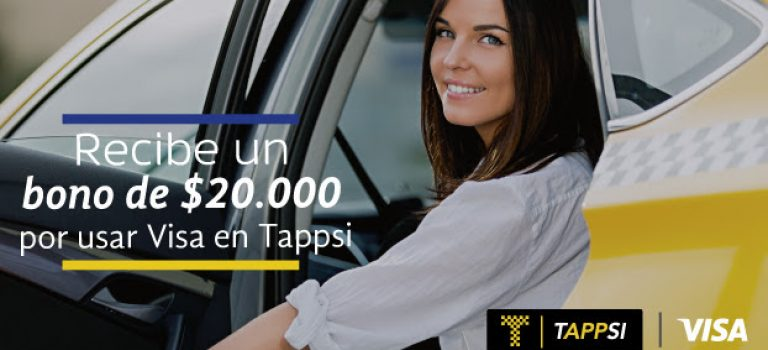 Tappsi se alía con Visa para promover el uso de medios de pago electrónico en taxis colombianos