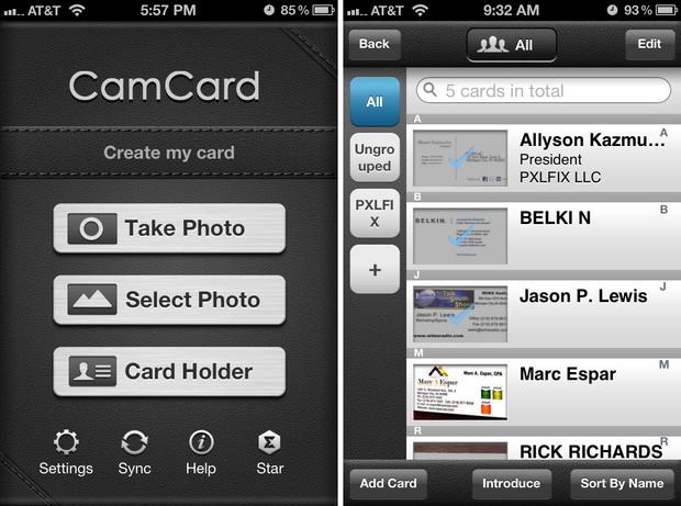 camcard-app-tarjetas-visita