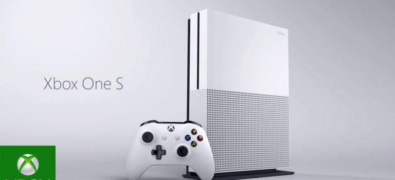 XBox One S, así es la nueva consola de Microsoft