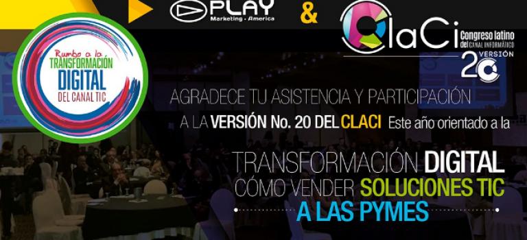 Claci ED. 20 Rumbo a la transformación digital del Canal TIC