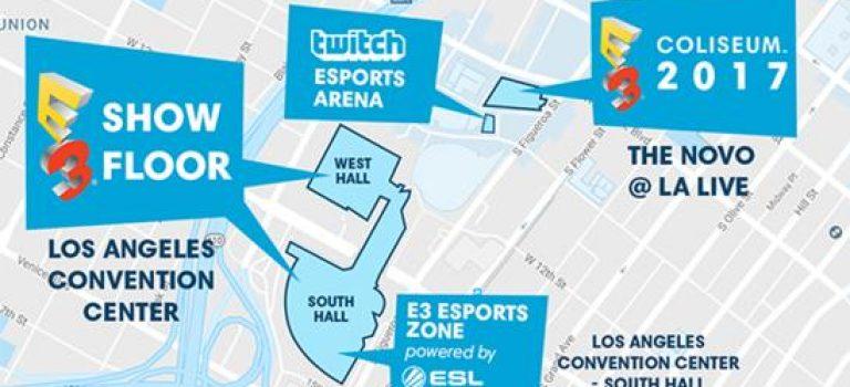 Conoce la agenda  completa del E3 Coliseo